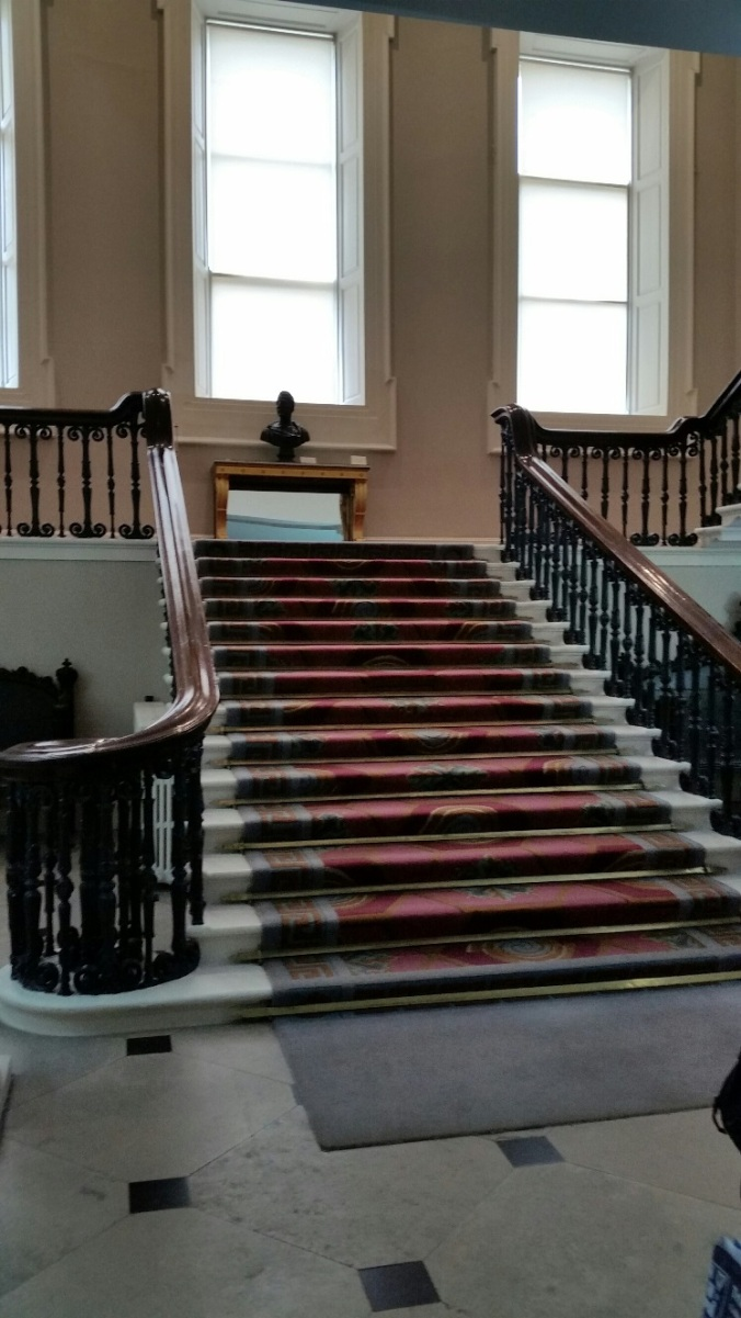 Dub Castle stairs