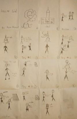 Storyboard Soccer Girl